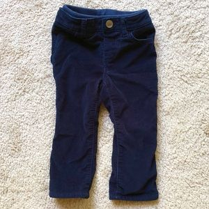 BABY GAP lined corduroy pants, Size 18-24
